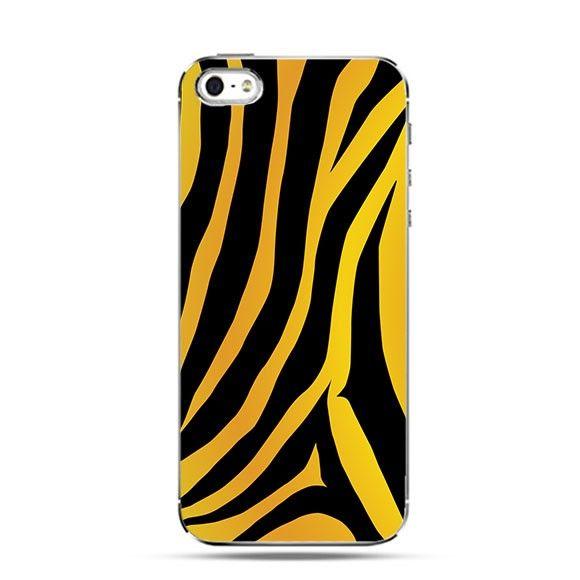 Etui złota zebra