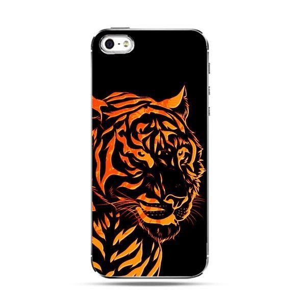 Etui pomarańczowy tygrys