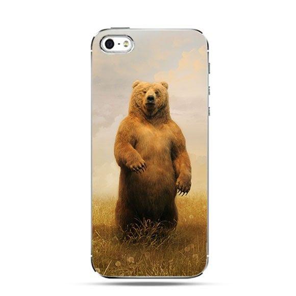 Etui niedźwiedź grizzly