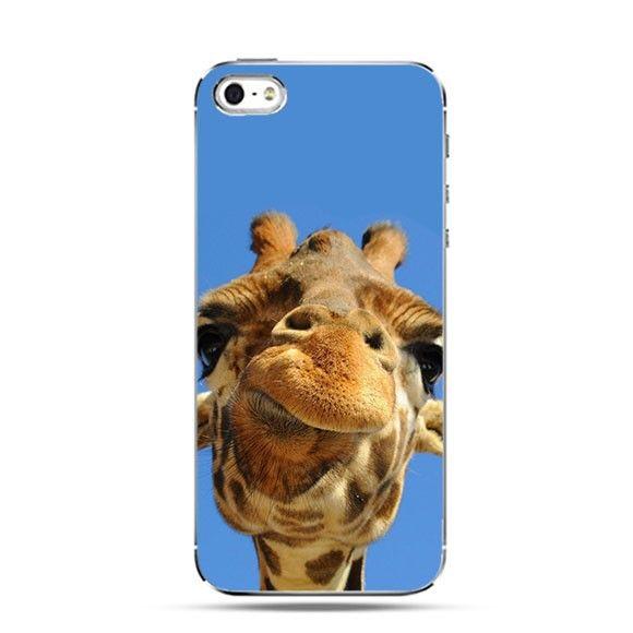 Etui zabawna żyrafa