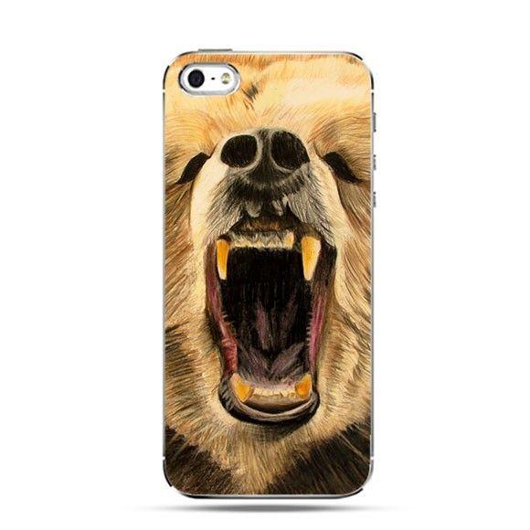 Etui grizzly niedźwiedź