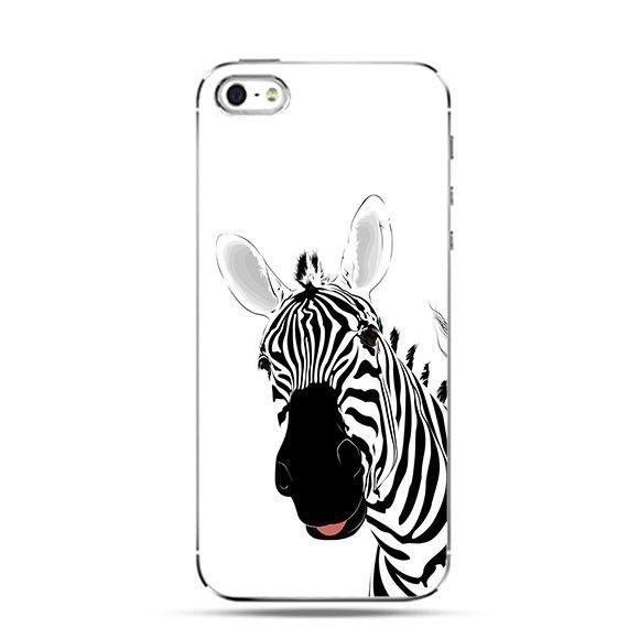Etui zabawna zebra