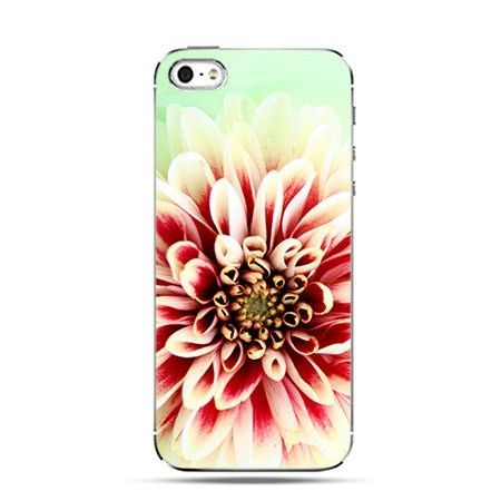 Etui kwiat Dalia kolorowa