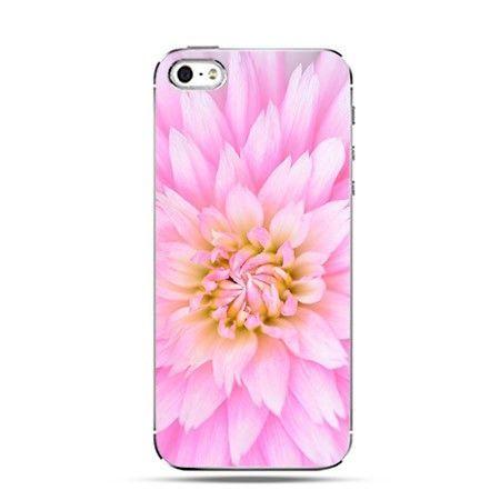 Etui piękny różowy kwiat