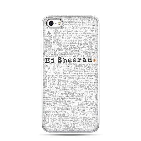 Etui na telefon Ed Sheeran białe poziome