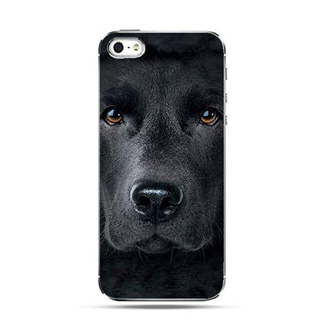 Etui czarny labrador Face 3d