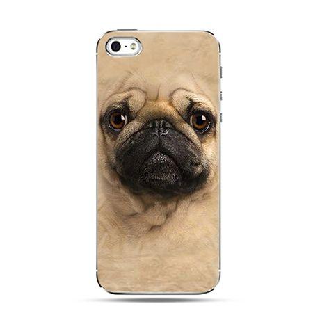 Etui pies szczeniak mops Face 3d