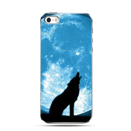 Wilk nocny - Twarde Etui z nadrukiem iPhone 6 plus