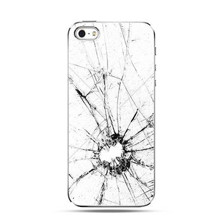 Rozbita szyba - Twarde Etui z nadrukiem iPhone 6 plus