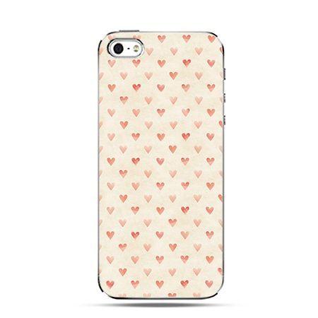 Czerwone serca - Twarde Etui z nadrukiem iPhone 6 plus