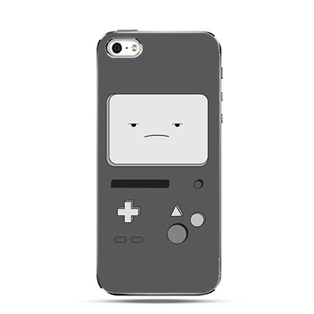 Gameboy szary - Twarde Etui z nadrukiem iPhone 6 plus