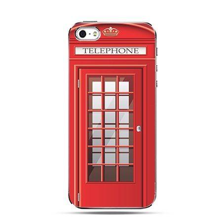 Budka telefoniczna - Twarde Etui z nadrukiem iPhone 6 plus
