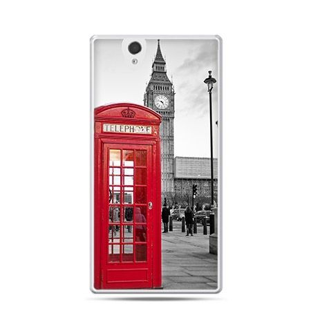 Big Ben Londyn etui z nadrukiem dla Xperia Z twarde, ochronne