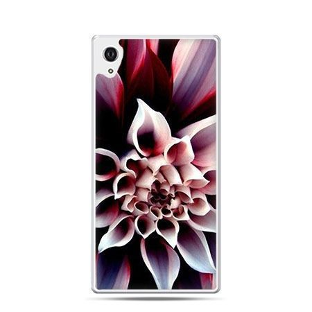 Kwiat dalia etui z nadrukiem dla Xperia Z2 twarde plastikowe