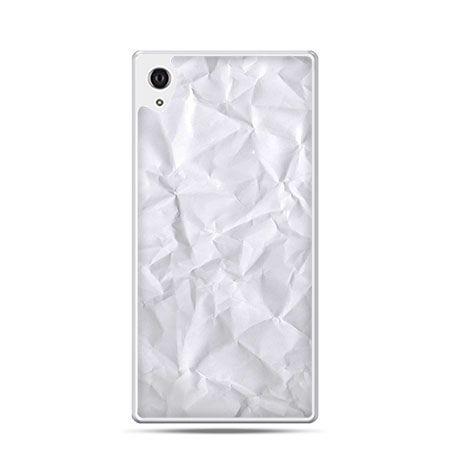 Kartka papieru etui z nadrukiem dla Xperia Z2 twarde plastikowe