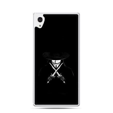 Anonimus etui z nadrukiem dla Xperia Z2 twarde plastikowe