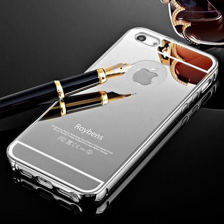 iphone 5s bumper case iphone 5 5s etui mirror aluminium bumper lustro 14753