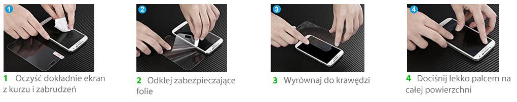 jak założyć hartowane szkło na telefon